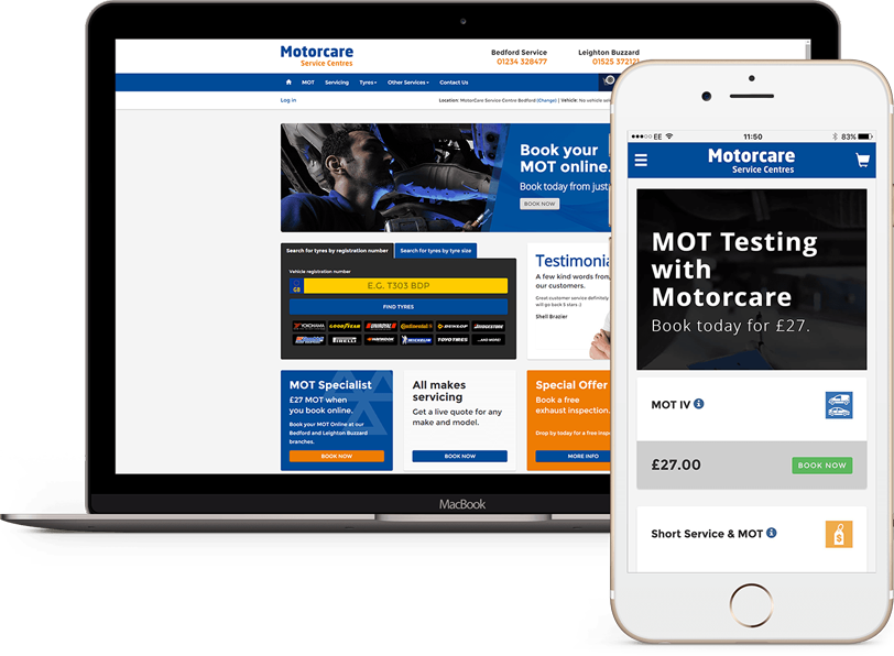 Motasite - Website platform for the Motor Trade