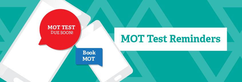 illustration–MOT Test reminders from mobile phones